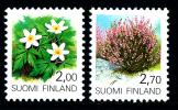 FINLAND/Finnland 1990 Plants & Flowers Definitives 2v** - Nuovi