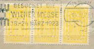 25K218 // - L...B.. LANDERBANK - Perfin Perfores Perforiert / Gezähnt Perforati Perforadas , Austria Österreich Autriche - Perforiert/Gezähnt