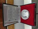 "1000 Dinars-Yugoslav ""Proof"" Silver Coin-1980-Tito's Death-Mort De Tito - Yougoslavie"