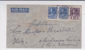 SIAM - 1937 - ENVELOPPE Par AVION De BANGKOK Pour L'ITALIE - Siam