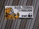 S.O.S. TIGERS   WWF   World Wrestling Fédération   W.W.F.  Autocollant Sticker - Publicidad