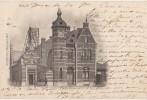 CPA BELGIQUE HAL HALLE La Gare Du CHemin De Fer 1902 - Halle