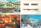 "18625 Le SEIGNUS D'ALLOS France 04 - Hôtel Restaurant ""chez Franz"" . Ski Sports D'hivers 2cv -Eric Polski - Restaurants"