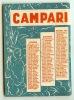 Petit Agenda CAMPARI 1951 - Petit Format : 1941-60