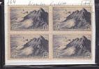 VARIETE BLOC DE 4 FRANCE N°764 = LEGENDE EVIDEE - Curiosités: 1945-49 Neufs
