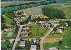 18634 Pontailler Sur Saone, Chalets Plage Camping,  La Chanoie, Vue Aérienne. 3.99.79.3354 Cim - France
