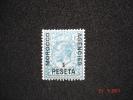 Morocco Agencies 1914  K.George V Spanish 1P On 10d  SG135 MH - Morocco (1956-...)