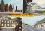 18637 CHAUFFOUR NOTRE DAME  Eglise , Denisiere, Mortraies, Rue Principales. Ed Diffusion, E 7 - Magasin Egé - Non Classés