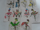 10 Cartes French Cancan - Cabaret