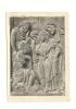 Cp, Sculptures, Bas-Relief - Scène De L'Ancien Testament - Sculptures