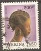 Burkina Faso, Cabeza De Mujer, Peinado - Burkina Faso (1984-...)