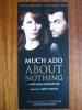 Much Ado About Nothing David Tennant Catherine Tate Wyndham's Theatre London Leaflet Brochure Flyer Handbill - Werbung