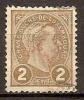 Luxembourg 1895 - Le Grand-duc Adolphe 1er  ( Duke ) - 1895 Adolfo De Perfíl