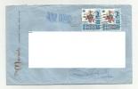 Vecchia Busta Spedita Da Hong Hong China Cina  Air Mail 1971 - 1949 - ... Repubblica Popolare