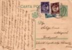 Romania, Old Circulated Postcard, - Roumanie