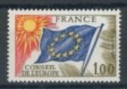 FRANCE 1976 YV SERVICE 49 CONSEIL DE L´EUROPE. MNH, POSTFRIS, NEUF**. - Europa-CEPT