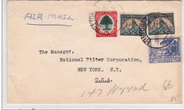 AFRIQUE Du SUD - 1947 - ENVELOPPE COMMERCIALE Par AVION De PRETORIA Pour NEW YORK (USA) - Briefe U. Dokumente