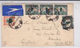 AFRIQUE Du SUD - 1936 - ENVELOPPE Par AVION De DURBAN Pour LONDON (GB) - Briefe U. Dokumente