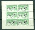 New Zealand: 1957   Health Stamps     MNH Sheetlets X2 - Blocks & Sheetlets