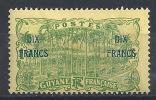 SZ--285-   N° 94,  *   ,  COTE 26.00 €,   SCAN DU VERSO SUR DEMANDE, LIQUIDATION - Guyane Française (1886-1949)