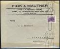 B.11.SEP.747.  POSTSTUK VAN OOSTENRIJK  NAAR  DUITSLAND.  1934. - Brieven En Documenten