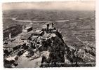 Cp , SAINT-MARIN , Nid Du Faucon Et Panorama , Voyagée 1959 - Saint-Marin
