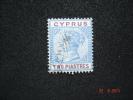 Cyprus 1894 Q.Victoria  2 Pi   SG 43  Used - Cyprus (...-1960)