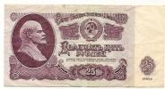 Russia , 25 Ruble , 1961 - Russie