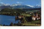 Spiez Am Thunersee Mit Schloss Dreispitz Und Blümlisalp 1964 - BE Berne