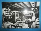 """29  RIEC SUR BELON - Restaurant  """" Chez  Mélanie """" Un Coin De La Salle à Manger """" Cpsm Dentellée """" - France"""