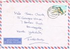 Carta Aerea AGIOS NIKOLAOS LASITHIOU ( Creta Griega) 1980 - Crète