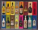 Lot - 3 Coffrets Plastique Contenant 16 Boites D´allumettes - Publicités Alcools, Apéritifs Picon, Malibu, St James Etc - Cajas De Cerillas (fósforos)