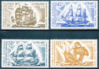 FRENCH SOUTHERN ANTARCTIC TERRITORIES  SSAILING SHIPS SC# C29-32 VF MNH - Airmail