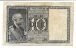 10 Lire Impero 1939 XVIII - [ 1] …-1946 : Koninkrijk