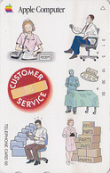Télécarte Japon / 110-011 - Publicité ORDINATEUR APPLE  - Computer PC Japan Phonecard Telefonkarte Pomme - 23 - Advertising