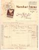 VINS ET SPIRITUEUX - -Facture Couleur 1951- VERNHET Frères - Négociants De Vins Frontignan TB - 1950 - ...