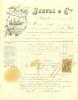 VINS ET SPIRITUEUX - -Facture Tête De Lettre Recto Verso -1891 Vins Fins Eaux De Vie SERVEL Et Compagnie - MONTPELLIER - 1800 – 1899