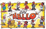 SOUTH AFRICA(chip) - Say Hello 2/Make That Call, Telkom Telecard, Exp.date 03/99, Used - Afrique Du Sud