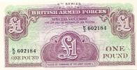 One Pound - British Military Authority