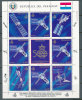 PARAGUAY 1989 DISCOVERY OF AMERICA M/S  SPACE STATIONS VF MNH - Paraguay