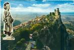 Repubblica Di S. Marino, The First Tower Panorama Used Postcard [P6693] - San Marino