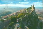 Repubblica Di S. Marino, The First Tower, Panorama, 1968 Used Postcard [P6698] - San Marino