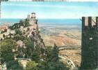Repubblica Di S. Marino, Scorcio Della Sconda Torre E Panorama, Used Postcard [P6699] - San Marino