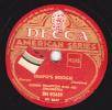 Disques 78 Tours Pour Phonographes - Fox-trot - LIONEL HAMPTON - TEMPO´S BOOGIE - THE LAMPLIGHTER - 78 T - Disques Pour Gramophone