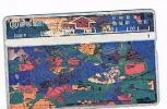 TAIWAN - CHUNGHWA TELECOM (L&G) - 1995  D5018 PAINTING: GARDEN  (CODE 543D)  - USED °-  RIF. 4691 - Taiwan (Formosa)