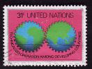 Nations Unies New York   1978 -  Y&T  295  - Oblitéré - Oblitérés