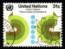 Nations Unies New York   1980 -  Y&T  313  - Oblitéré - Cote 1.10e - Oblitérés