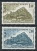 FRANCE 1980 YV SERVICE 63-64 CONSEIL DE L'EUROPE. MNH, POSTFRIS, NEUF**. - Europa-CEPT