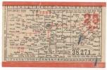 TRAM / STRASSENBAHN - Old Ticket, FRANKFURT A. M. Germany - Tram