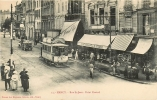 NANCY - Rue Saint Jean - Point Central - Belle Animation Avec Tramway Et Nombreuses Devantures - 2 Scans - Nancy